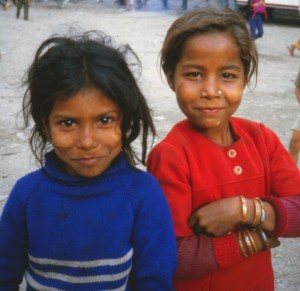Nepali girls closeup